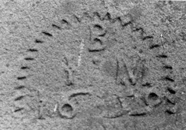 1659 Date Stone