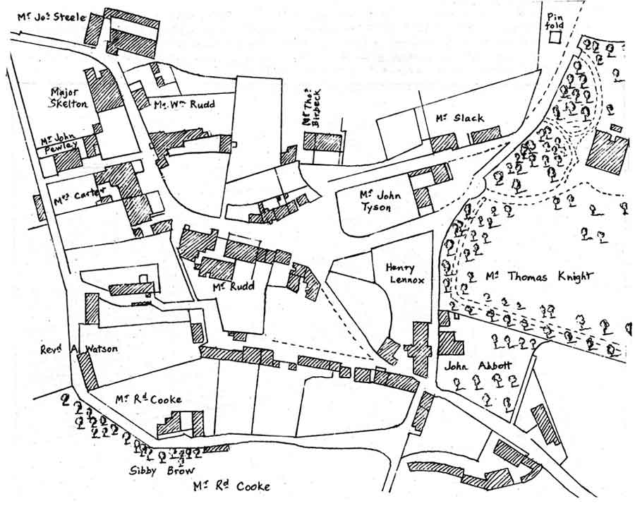 Inset from John Wood's Map of 1832