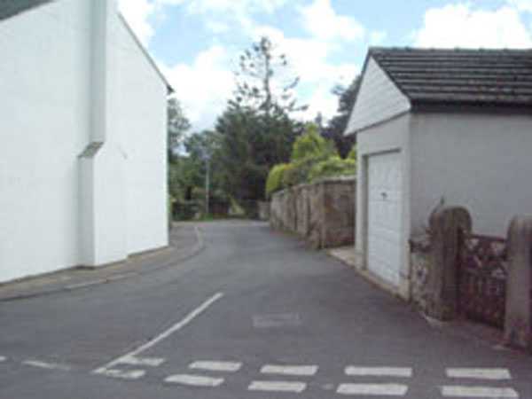 Start of Back Lane