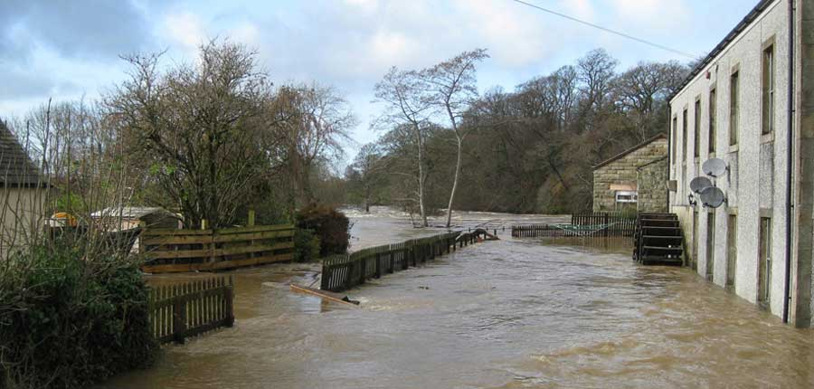 Flood Back of Corn Mill