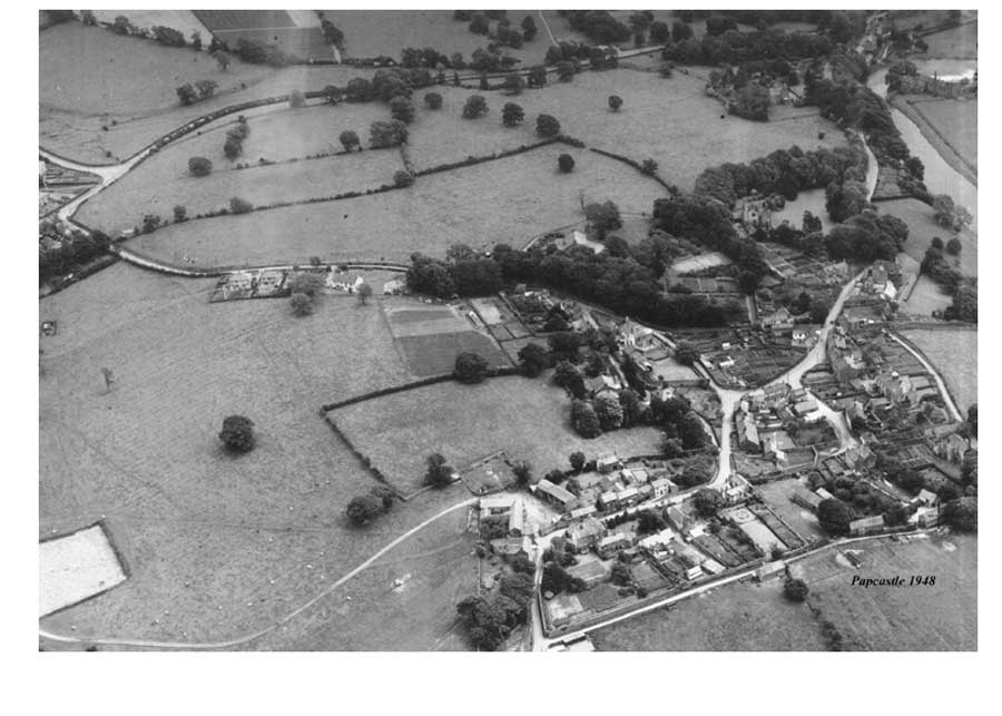 Papcastle Aerial 1948