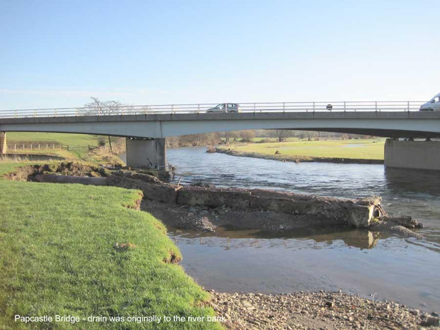 Papcastle Bridge Drain