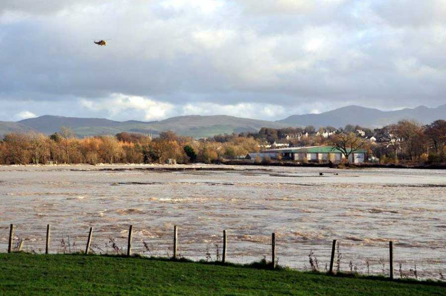 The Broomlands field on the morning of 20th November 2009 (Photo by Greg Greenhalgh)