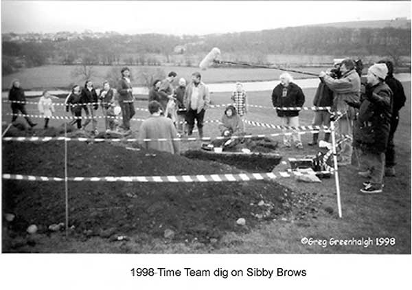 Time Team Dig in front of The Grove 1998